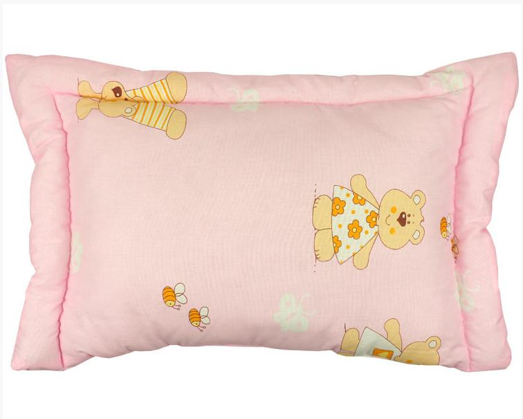 Детские подушки с силиконовым наполнителем (цвета в ассортименте) фото №1