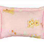 Детские подушки с силиконовым наполнителем (цвета в ассортименте)