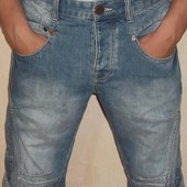 Джинсовые шорты (капри)