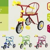 """Велосипед 3-х колес- """"Малятко"""", 6цветов, гвоздик"""
