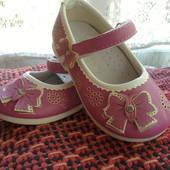 Последние- по закупке отдаю! ортопедические туфельки маленькой принцессы 13,9см туфли балетки