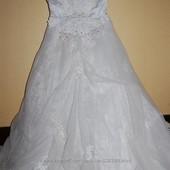 Платье свадебное белое р. 42-44