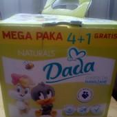 Влажные салфетки Dada 4+1 картон,Салфетки влажные Fitti classic -72 шт.