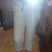 Белые узкие бриджи Папайя 12 размер 40 размер 46 размер