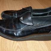 Очень удобные и лёгкие кожаные туфли-мокасины-лоферы Rieker, р.36