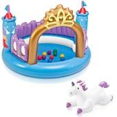 """Детский надувной игровой центр """"Магический Замок"""" Intex: 130х91см"""