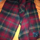 Різні чоловічі шарфи- клітка шерсть