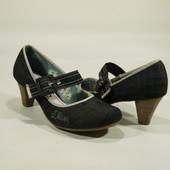 Туфлі джинсові  s.Oliver (25.5см) Німеччина