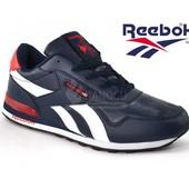 Кроссовки мужские Reebok Classik синие кожа размер 43