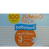 Babylove Jumbo pack підгузники для дітей - 370грн