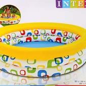 Надувной бассейн 58449 детский  Intex 168х40см  Интекс