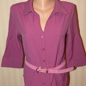 Dorothy Perkins Яркая  лёгенькая блуза-рубашка, р.44-46