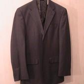 костюм серый М пиджак брюки жилетка галстук