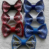бабочкі( метеликі)-галстуки!