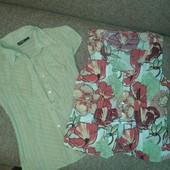 отличная летняя брендовая блуза от S.Oliver