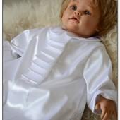 Крестильная рубашка для мальчика Барон