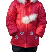 Комбинезон зимний (куртка+полукомбинезон) для девочек Даринка