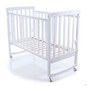 Детская кроватка Соня ЛД12 белая Верес