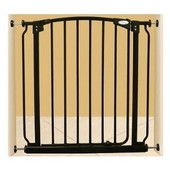 Дверной барьер 75х97-108, черный F170B