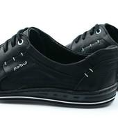 мужские кожаные спортивные туфли