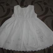 Сарафан (плаття платье) Matalan на 0 - 3 місяці.