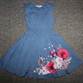 Платье H&M на 5-6год