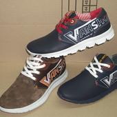 Мужские кроссовки VanShoes размеры 40-45 Nex2Sn