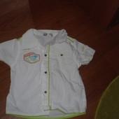 Классная рубашка на 1-2года(Франция)