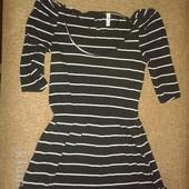красивая блуза футболка туника от Denim Co, можно беременным