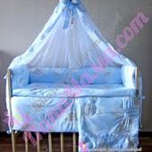 Набор детского постельного белья Bepino Мишки на облачках