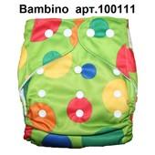 Многоразовый подгузник Bambino - внеший слой полиестр.