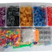 Резиночки для плетения loom bands 12000 шт  Меганабор