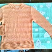 Мягкий свитерок для девочки 8 -9 лет ( 134 -140)