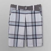 Мужские шорты с ремнем из США фирмы Roebuck - 36р