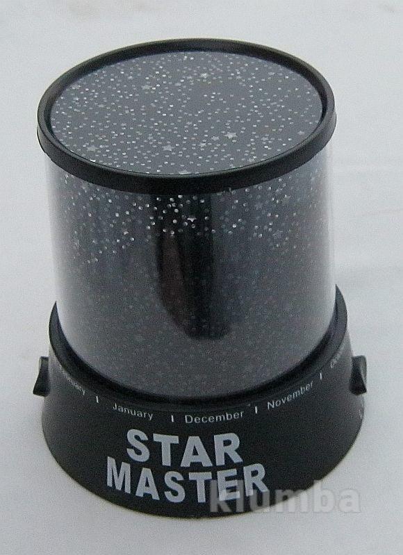 Проектор звёздного неба star master, адаптер, шнур фото №1
