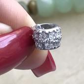 Пандора серебряная Королевская шарм 3356