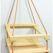 Качель детская деревянная
