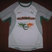 Puma (S) спортивная футболка детская для мальчика