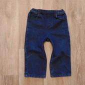 Стильные джинсики BHS, размер 12-18 месяцев, состояние идеальное.