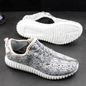 Кроссовки Adidas Yeezy 350 Boost серые 35-44 р-р.Мужские/женские