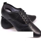 Код: gr205 Мужские туфли черного цвета!
