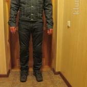 Утепленная короткая джинсовая куртка Versace Jeans Couture. Италия. L.