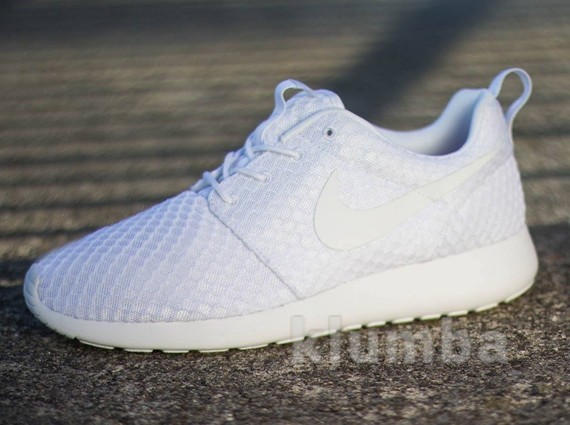 "Кроссовки Nike Roshe Run Breeze ""Whiteout"", р.41-45 фото №1"