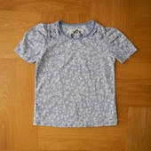 как новая фирменная футболка на 6 лет 116 см.