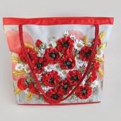 Набор для творчества My creative bag Сумка, вышитая лентами и бисером