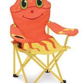 Раскладной стульчик шезлонг в 4х цветах