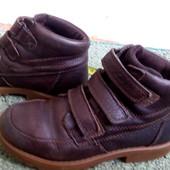 Распродажа!Кожаные ботинки Clarks,размер 10 G,18,5 см