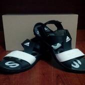 Мужские кожаные сандалии Adidas 43р. Распродажа!