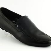 Мужские мокасины, туфли КОЖА замша 40,41,42,43,44,45 черные и синие