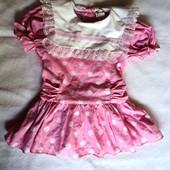 Фирменное платье на 18-24 мес.
